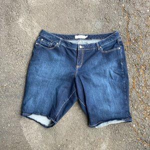 Torrid Denim Jean Shorts size 22